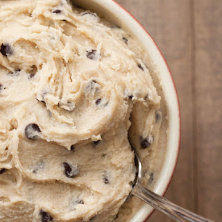 Eggless Chocolate Chip Cookie Dough.