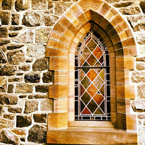 Christ Church window in Greenville, De  by Dianne Collins - Buildings & Architecture Architectural Detail