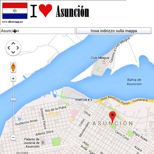 Asuncion maps