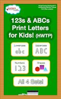 Screenshot of 123 ABC Kids Handwriting HWTP