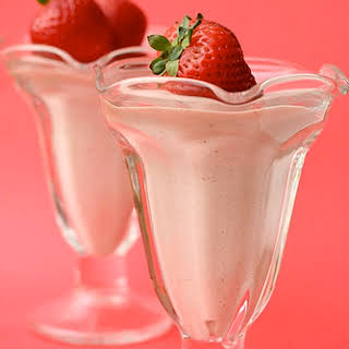 Strawberry Mousse.