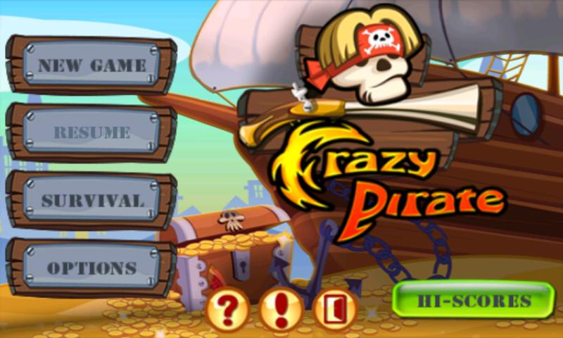Crazy Pirate - screenshot