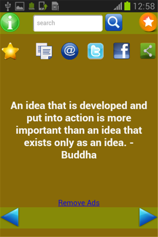 Buddha Quotes- screenshot