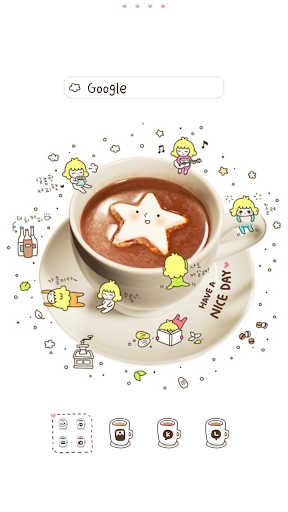 Star Coffee 도돌런처 테마