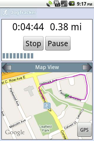 JogTracker Classic - screenshot