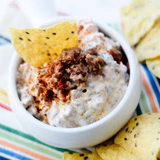 Hot and Spicy Sausage Dip.