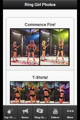UFC Girls - screenshot