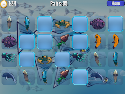 Aquarium Pairs- screenshot thumbnail