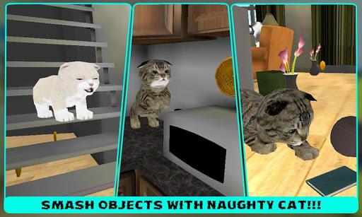 실제 애완 동물 고양이 3D 시뮬레이터