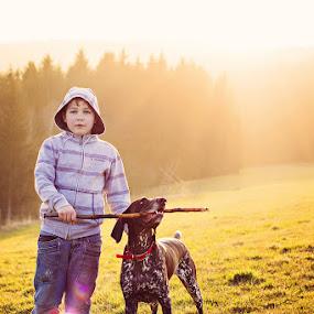 Michal&Bree by Hanna Králíková - Babies & Children Child Portraits