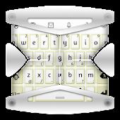 Bright White TouchPal Theme