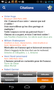 French Larousse dictionary - screenshot thumbnail