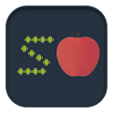 Android eats apples icon