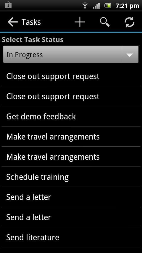 DroidSugar LITE- screenshot