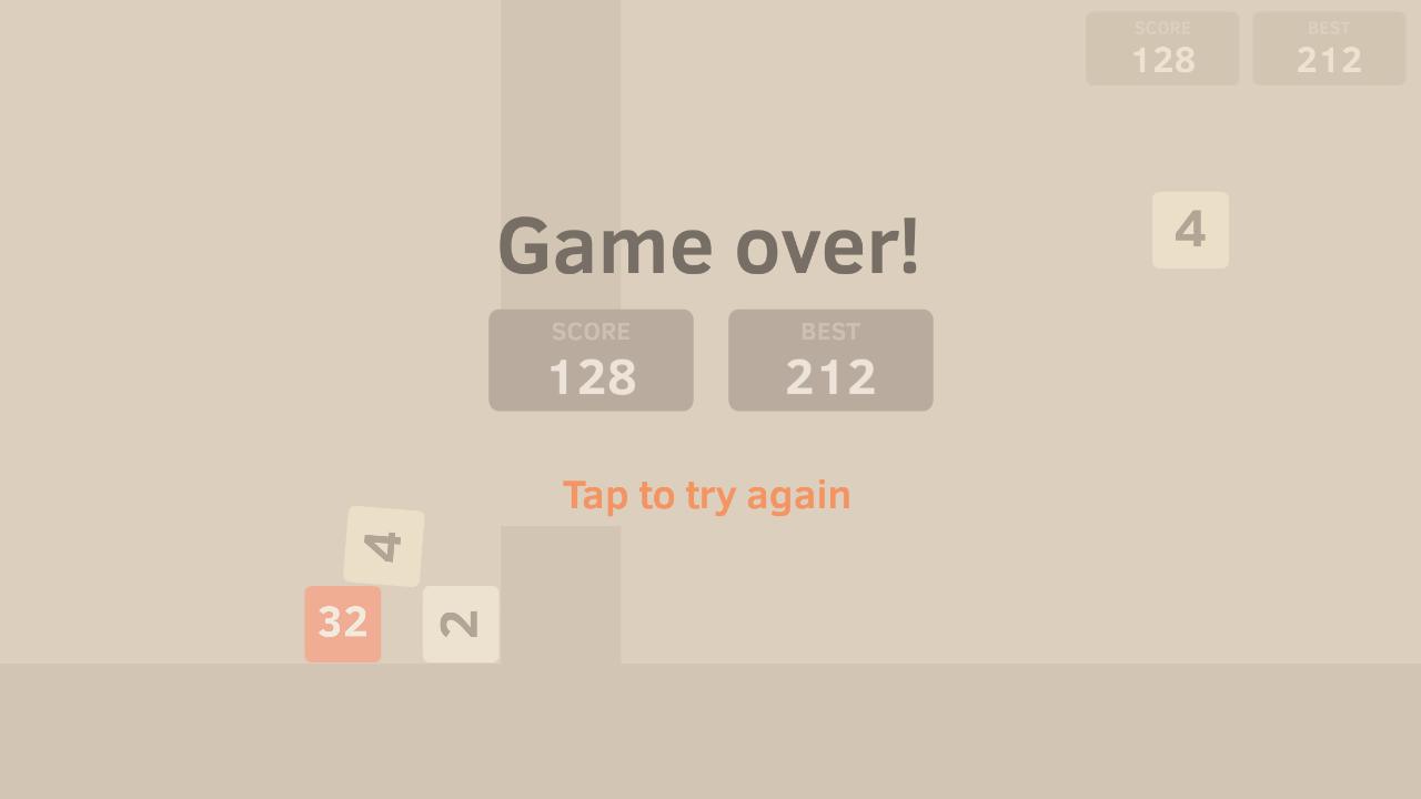 Flappy48 - screenshot