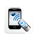 Dictation Blue Free icon