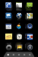 Screenshot of homescreen 3D (free version)