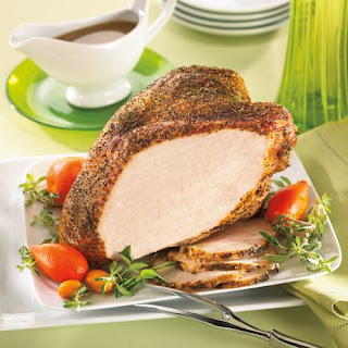 Roast Turkey Breast with Italian Herbs.