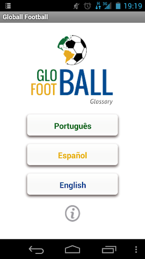 Globall Football Glossary