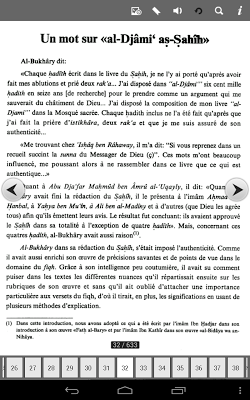 Tome 1- 4 FR Sahih Al-Boukhari - screenshot