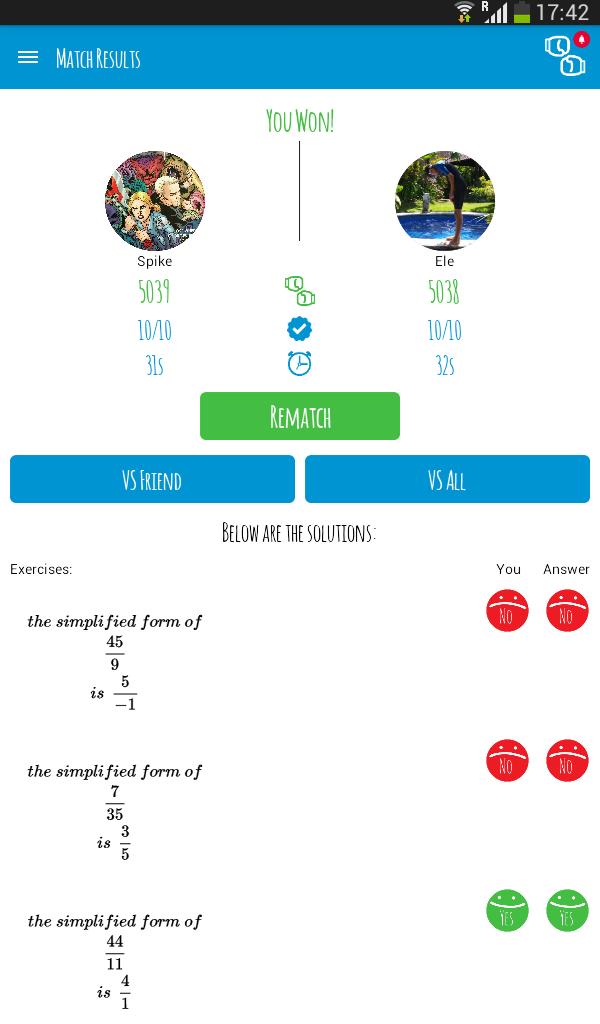 Maths Match screenshot #24