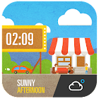 Cute Cartoon Widget icon