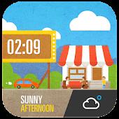 Cute Cartoon Weather Widget