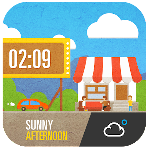 Cute Cartoon Widget
