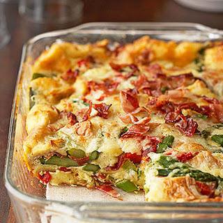 Bacon-Asparagus Strata