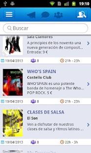 LiveClubs - Guia Ocio Nocturno - screenshot thumbnail