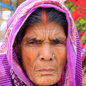 Tired eyes ........ by  Priyanka Das - People Portraits of Women ( face, closeup, photography, up, close,  )