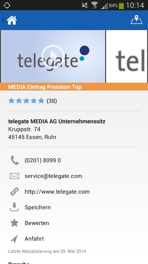 klickTel - Deine lokale Suche - screenshot