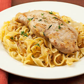 Pork Chops Egg Noodles Recipes.
