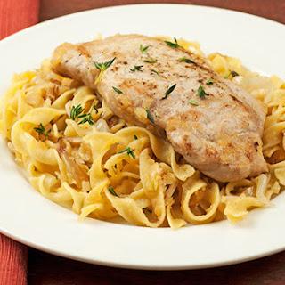 Pork Chops Egg Noodles Recipes.
