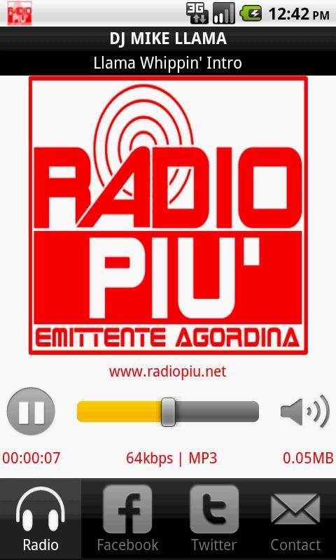 Radio Più Emittente Agordina - screenshot
