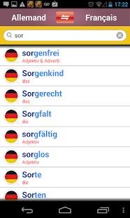 玩免費書籍APP|下載Dictionnaire allemand-français app不用錢|硬是要APP