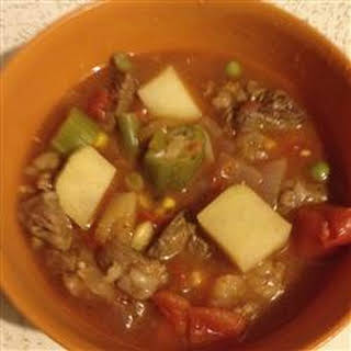 Awesome Beef Vegetable Soup.