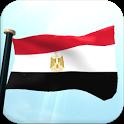 Egypt Flag 3D Free Wallpaper icon