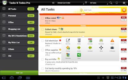 Tasks N ToDos Pro - To Do List Screenshot 14
