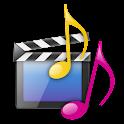 音楽・動画 logo