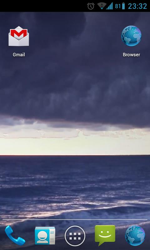 Stormy Ocean Live Wallpaper HD- screenshot