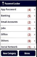 Screenshot of Password Locker