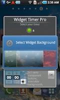 Screenshot of Widget Timer Pro