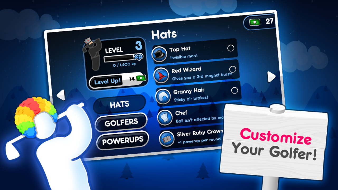 Super Stickman Golf 2 screenshot #5