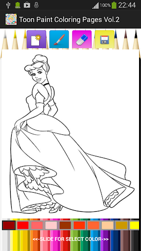 Toon Paint Coloring Pages V.2
