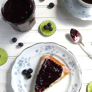 Blueberry-Lime Chia Seed Jam.