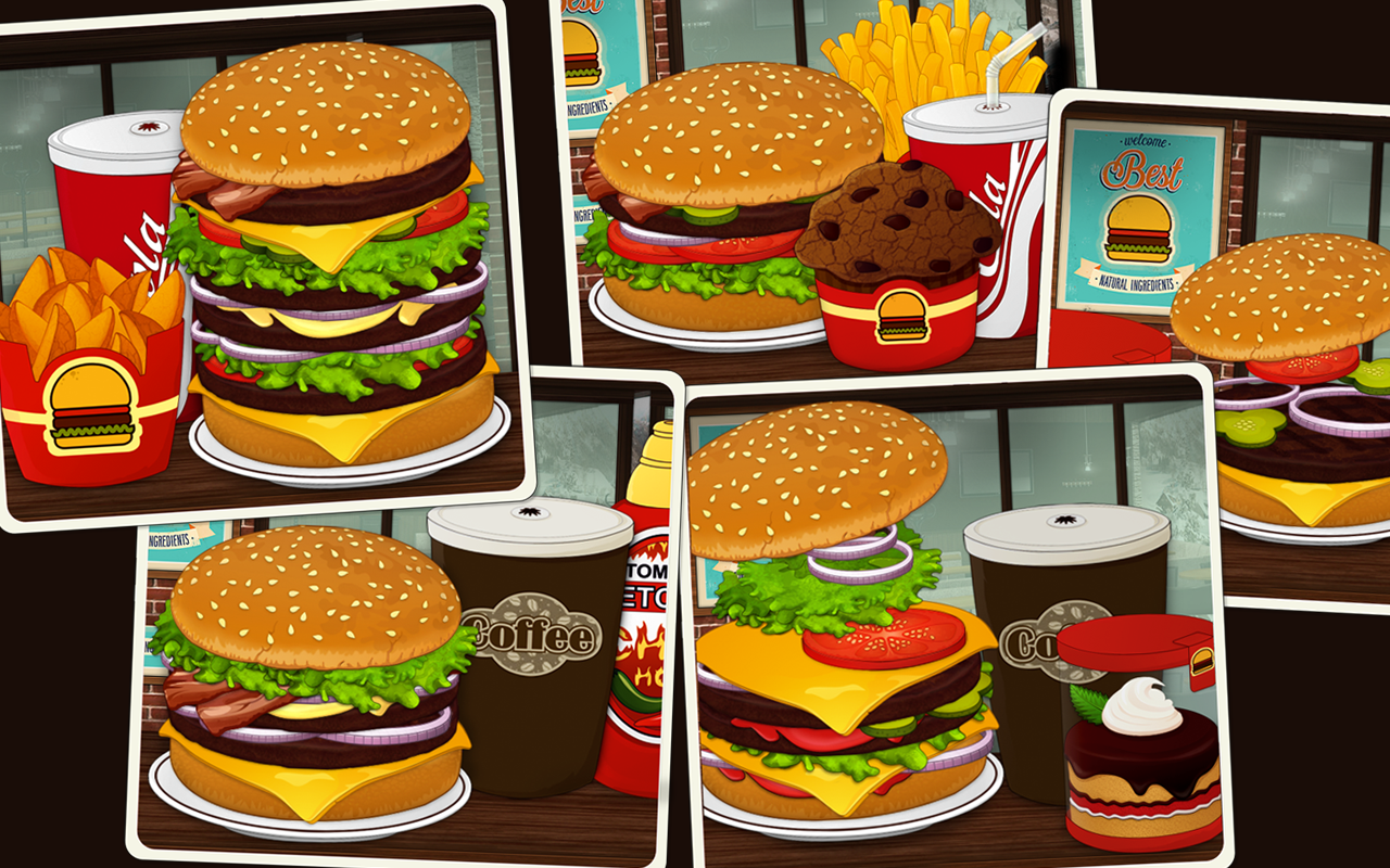 New Fast Food Restaurant Games