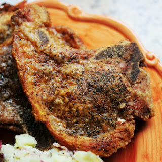 Simple, Pan-Fried Pork Chops Recipe