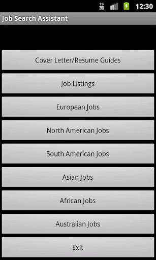 Job Search Assistant