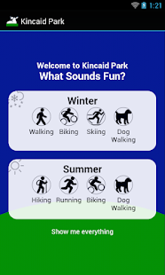 Find Yourself in Kincaid Park- screenshot thumbnail